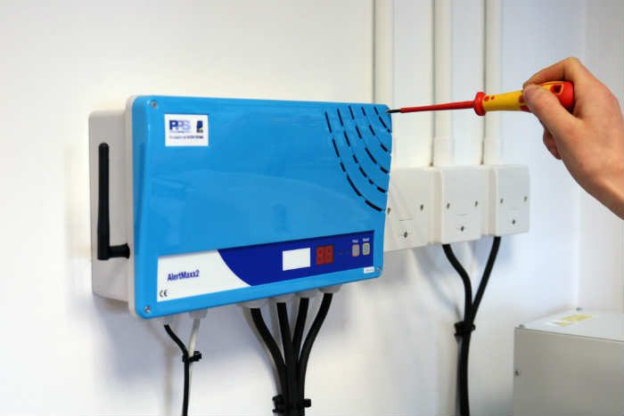 Wi-Fi enabled High Water Level Alarm for packaged pumping stations