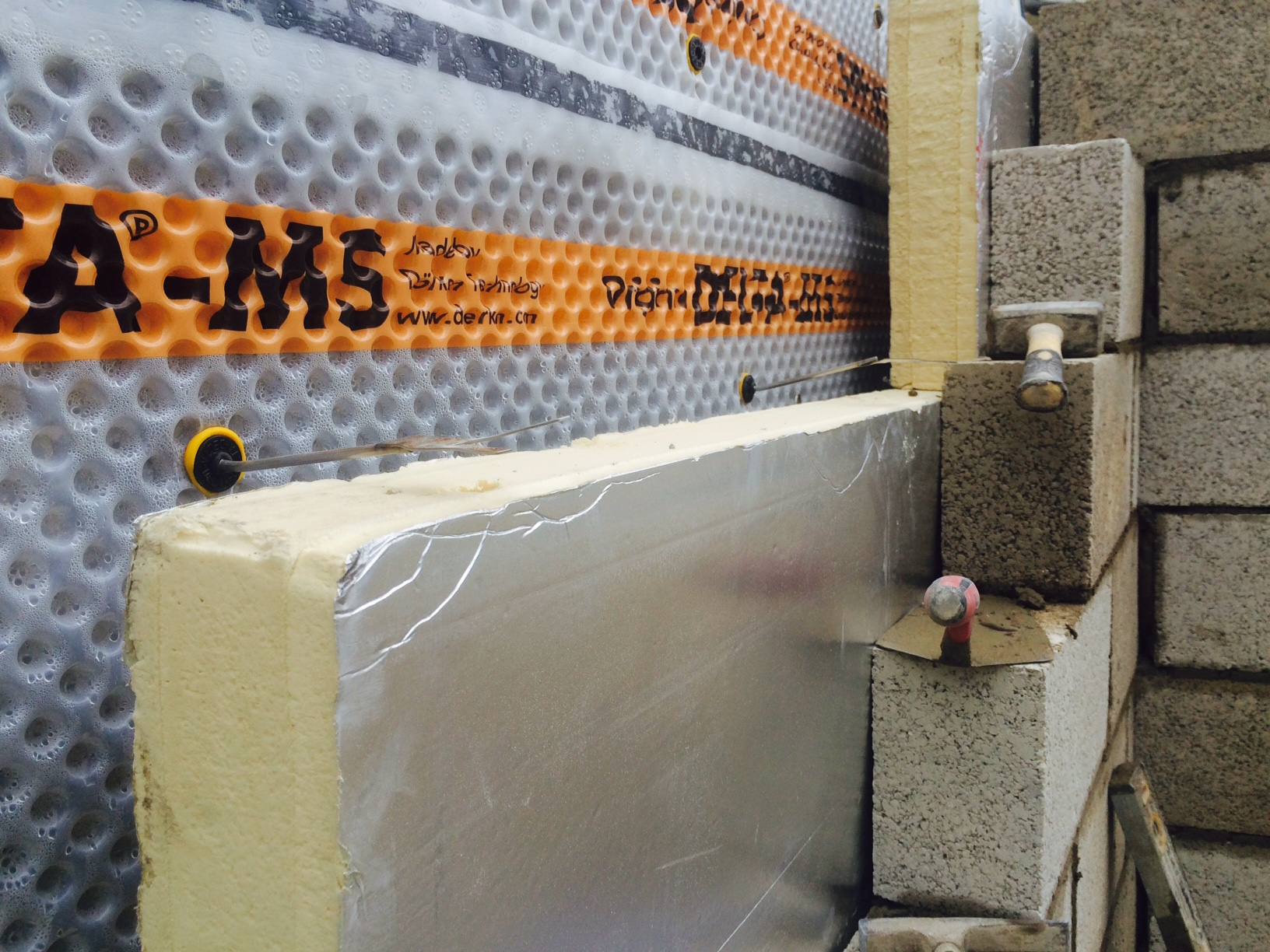 Combination Waterproofing/Combined Systems - Delta Membranes