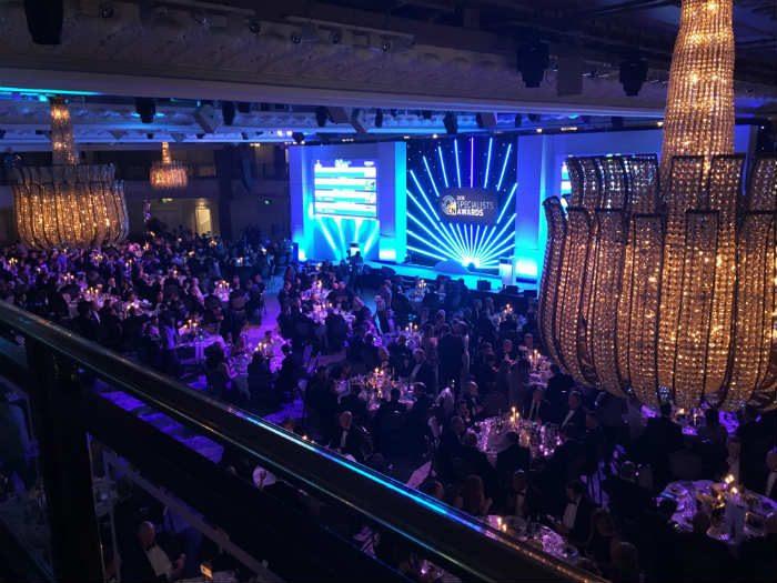 Delta attend Construction News Specialists Awards Ceremony