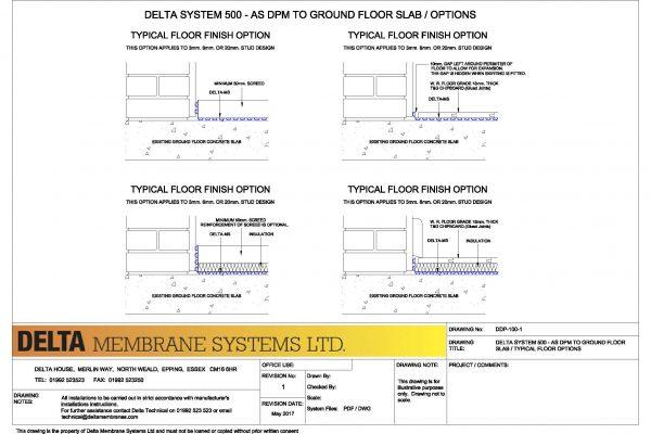 MS500 to Ground Floor Options