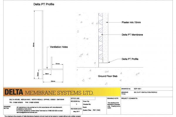 Delta PT - Ventilation Strip