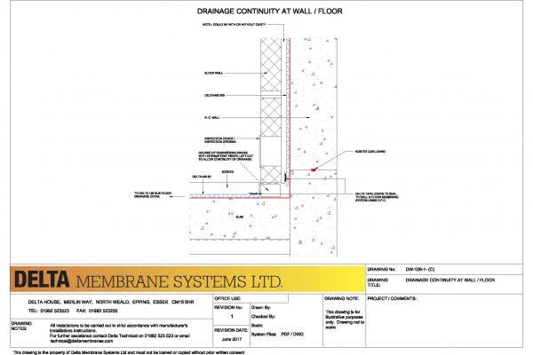 Drainage Continuity - Modular