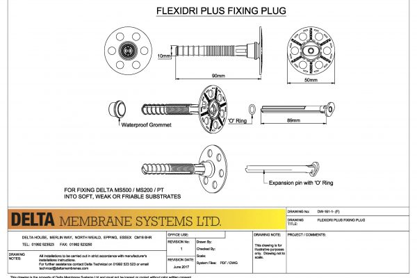 Delta Flexi Dri Plus Plug