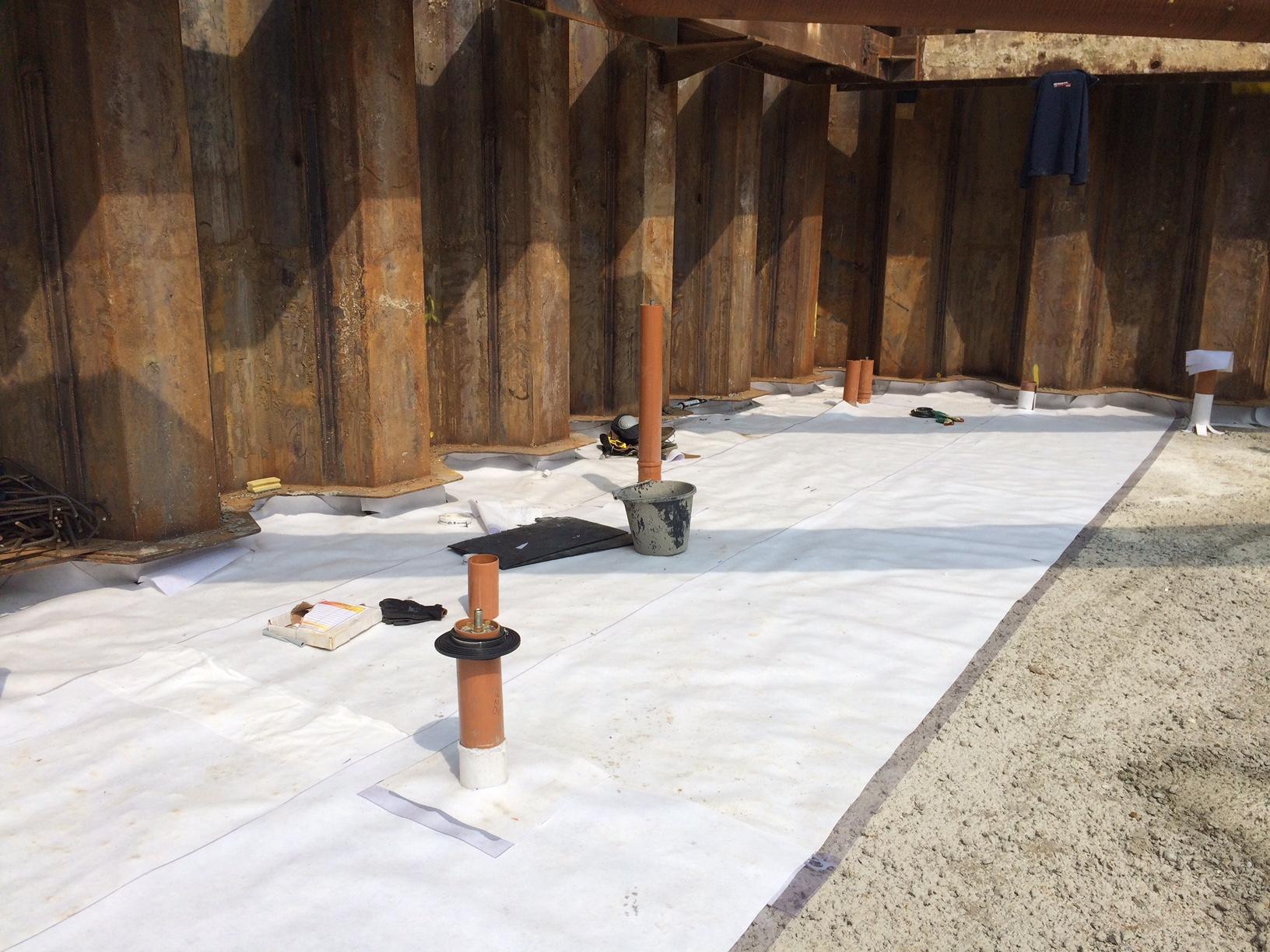 Pre-Applied Waterproofing Systems - Delta Membranes