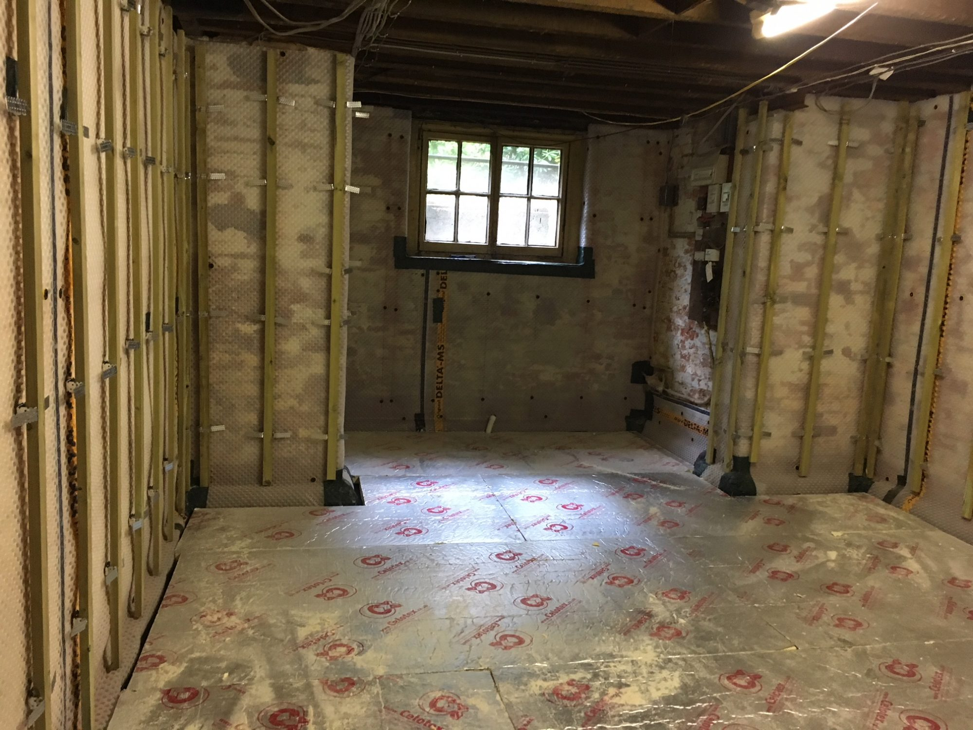 Problematic Damp Residential Basement