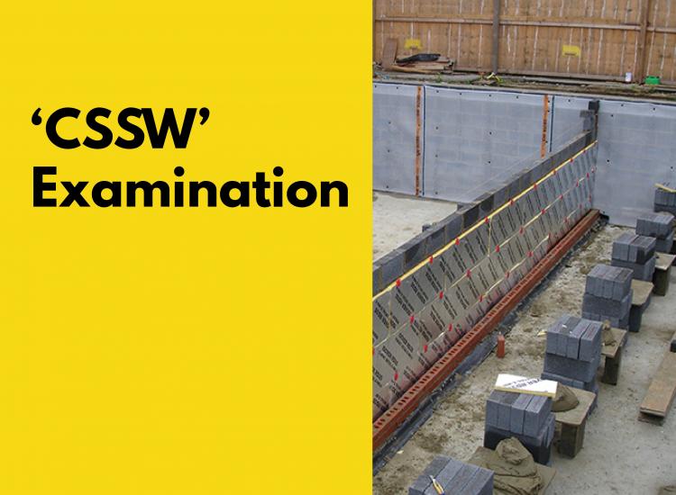 CSSW Examination