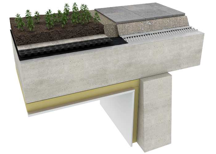 Waterproofing Buried roofs/Podium Decks/Balconies & Terraces