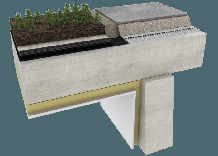 Waterproofing Buried roofs/Podium Decks/Balconies & Terraces