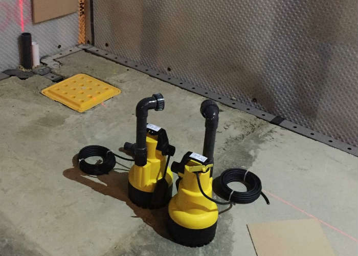 Package Pumps and Basement Drainage Systems