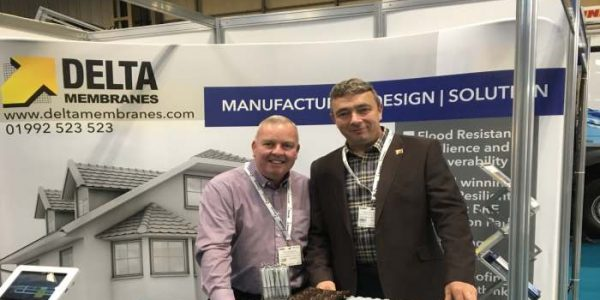Delta Membrane Systems Limited enjoy success at the Flood Expo