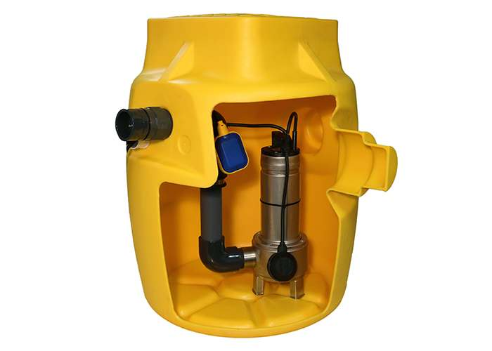 Foul V3 Sump Pump Station for basement and cellar drainage