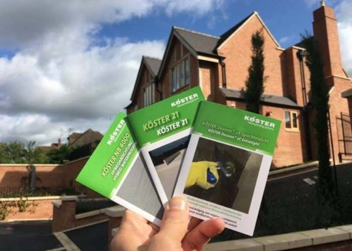 Koster Waterproofing Brochures