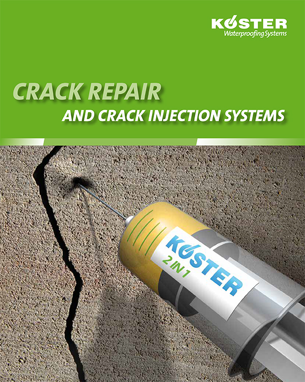 Koster Crack Repair and Crack Injection Systems