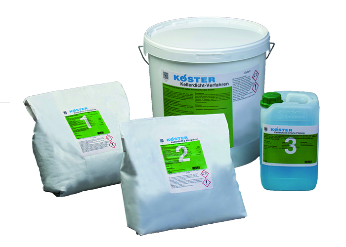 Koster KD System – Waterstop (including KD base, KD Blitz and KD Sealer)