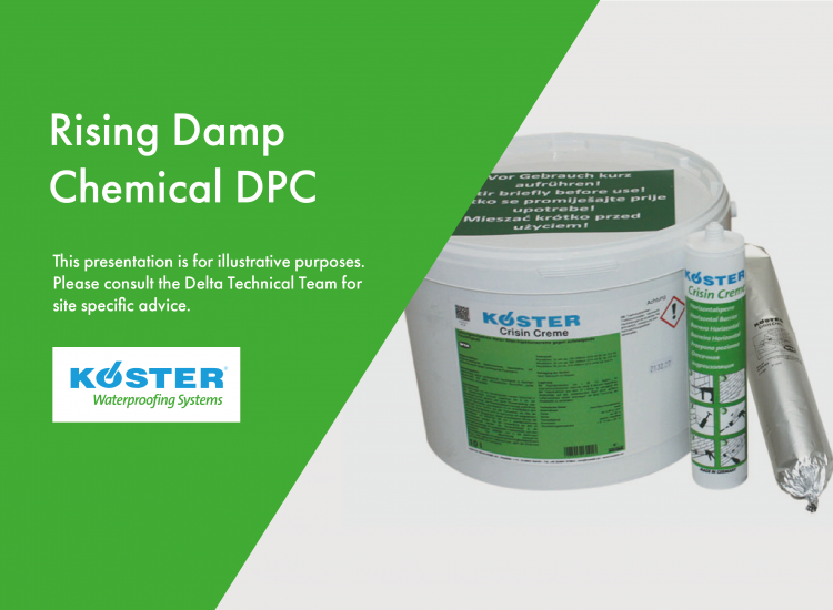 Rising Damp chemical DPC (damp proof course)