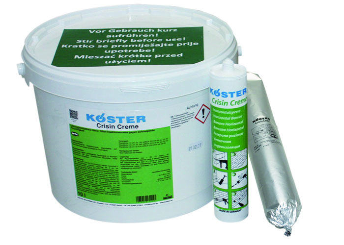 Koster Crisin Cream – DPC (Damp Proof Course)