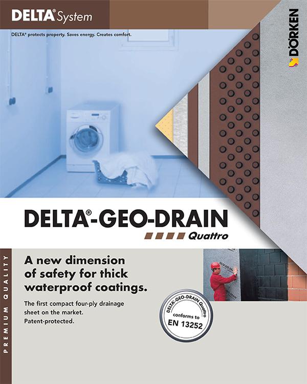 Delta Geo Drain Quattro