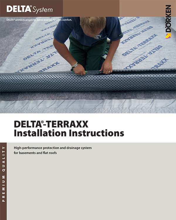 Delta Terraxx Installation