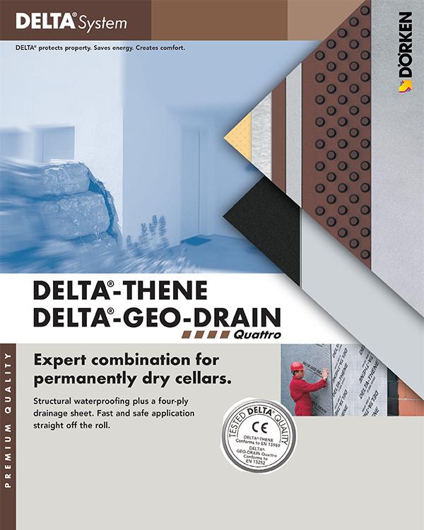 Delta Thene Geo Drain Quattro