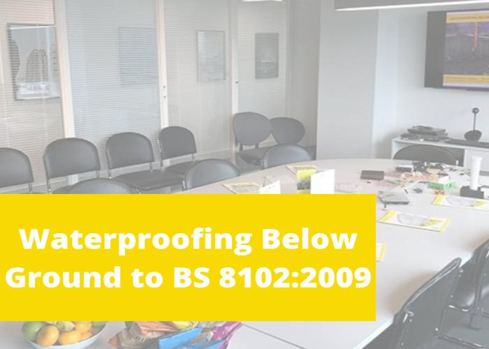 Waterproofing Below Ground Structures – RIBA Approved