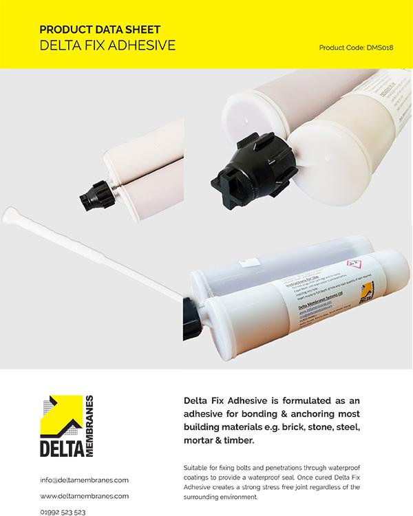 Delta Fix Adhesive