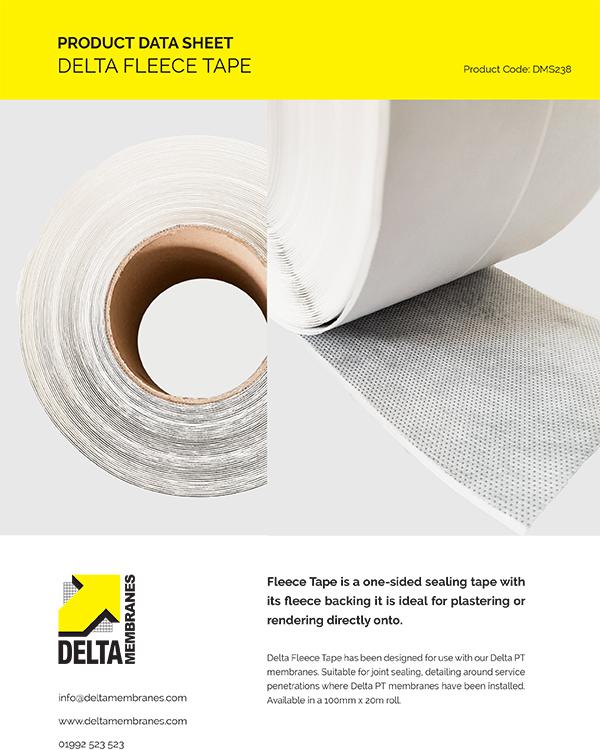 Delta Fleece Tape