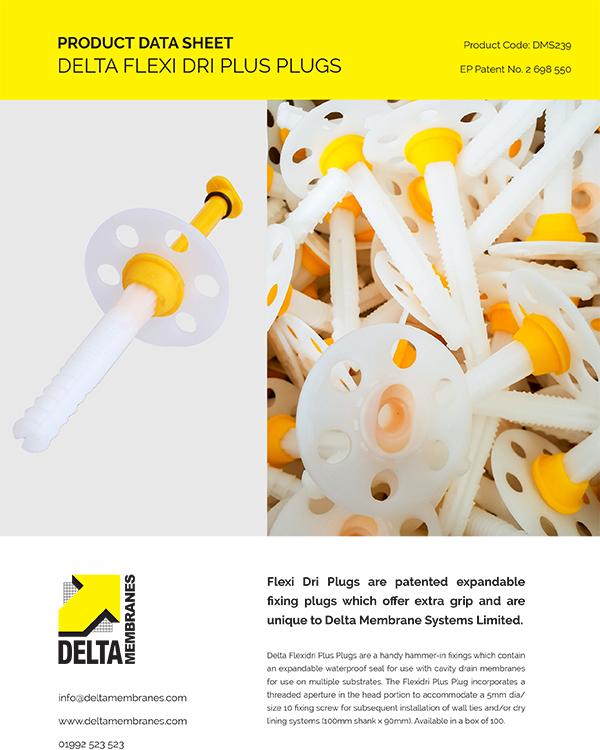 Delta Flexi Dri Plugs