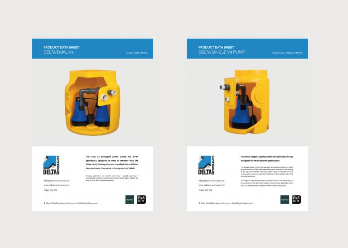Pump & Drainage Product Data Sheets