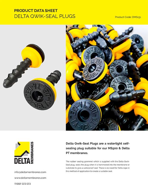 Delta Qwik-Seal Plugs