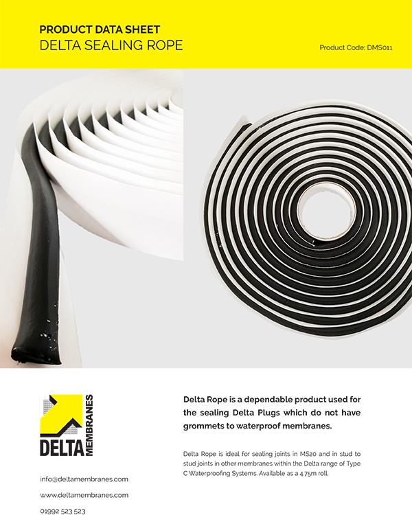 Delta Sealing Rope