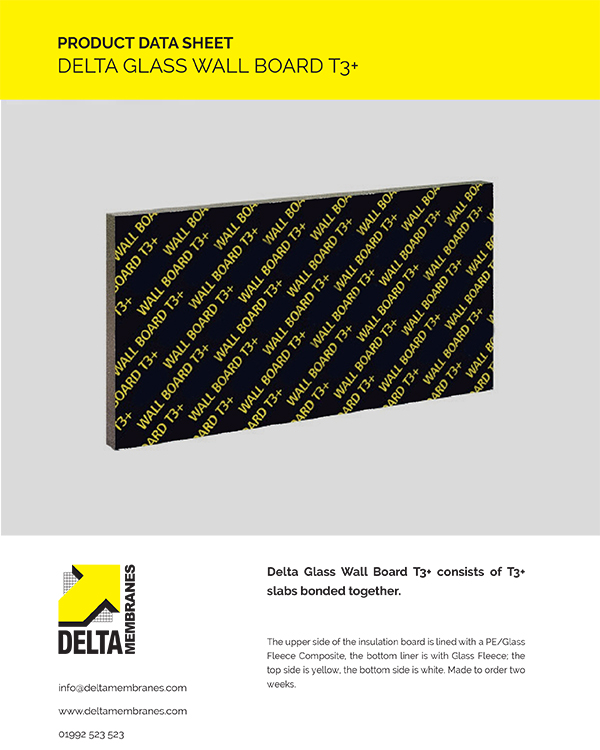 Delta Glass Wall Board T3+