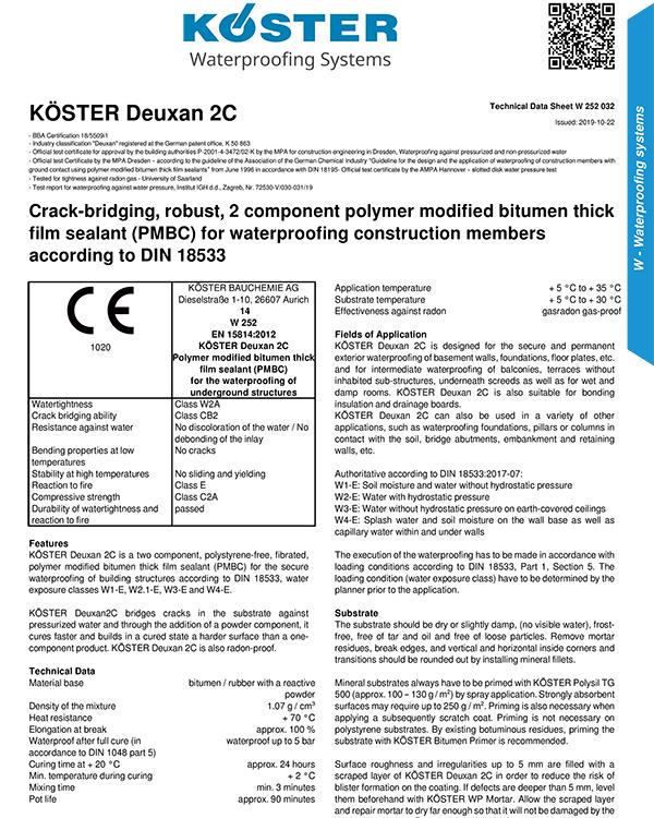 Koster Deuxan 2C