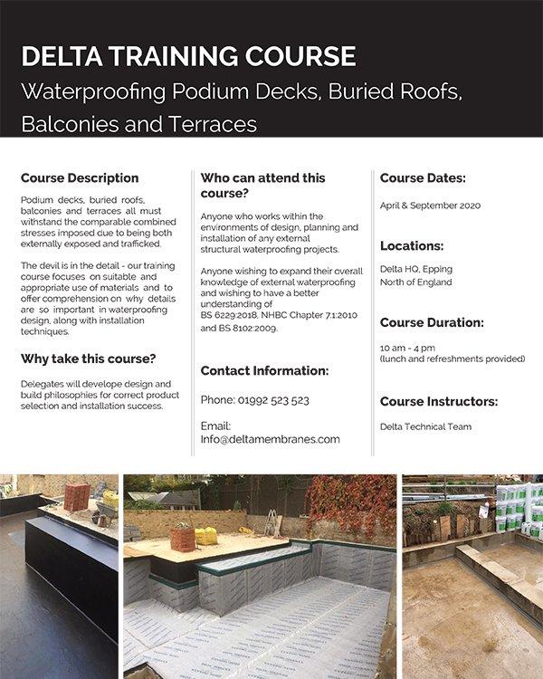 Podium Deck Course