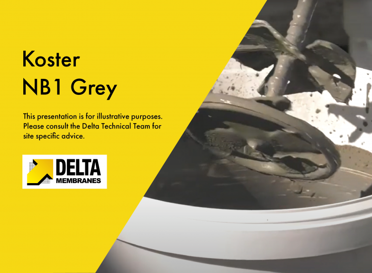 """""""How To"""" Video Guide – Koster NB 1 Grey waterproofing slurry"""