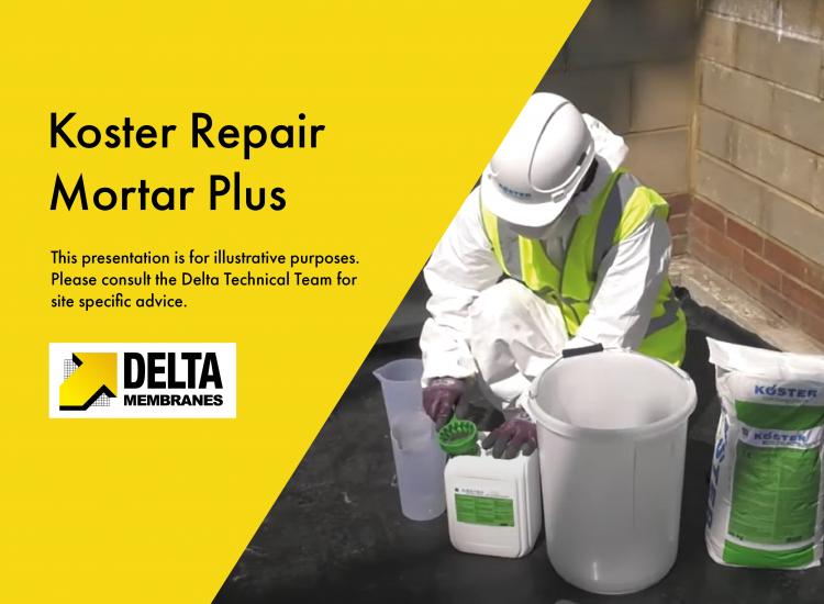 """""""How To"""" Video Guide – Koster Repair Mortar Plus"""