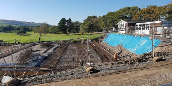 Structural Waterproofing at Celtic Manor Golf Club