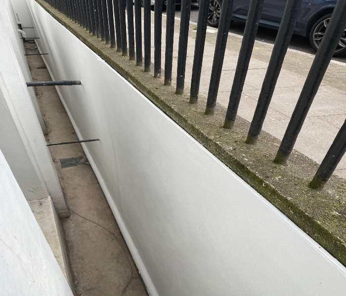 Lightwell Waterproofing Solution – Case study