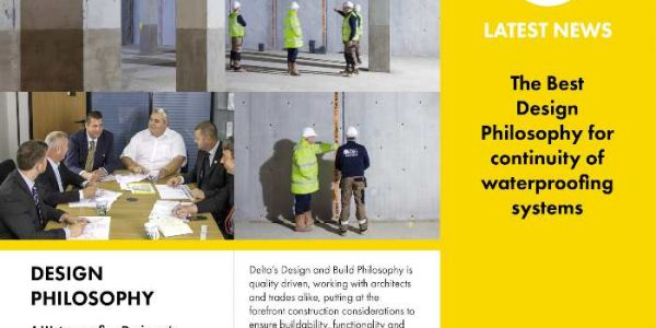 Design Philosophy for continuity of waterproofing systems