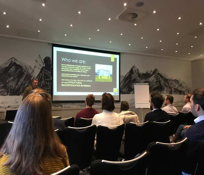Waterproofing CPD's for Architects and Specifiers