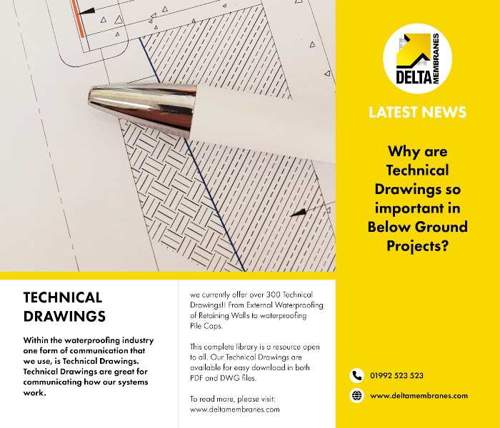 Why are Technical Drawings so important in Below Ground Projects?