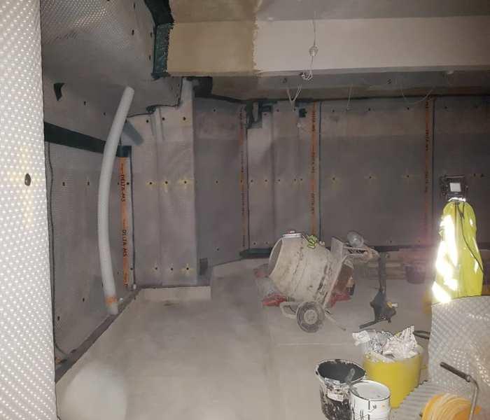Sports Bar, Basement Renovation Case Study