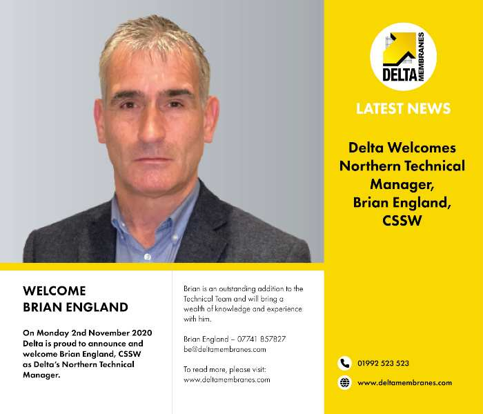 Delta Welcomes Brian England to the team