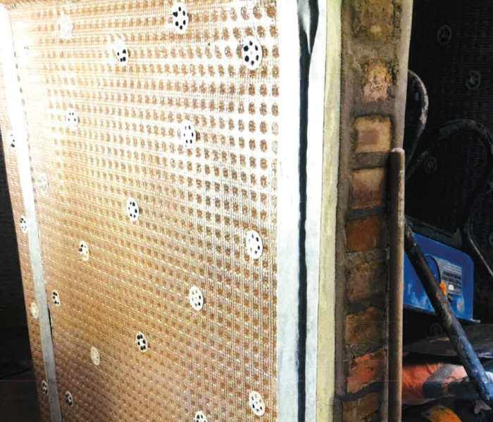 Waterproofing under pavement vault