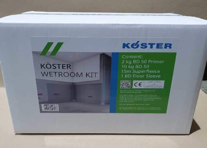 Koster BD Wet Room Tanking Kit