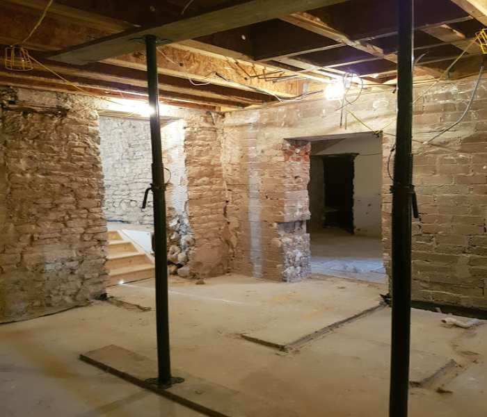 Damp Proofing Case Study – Flat Conversions, Wales