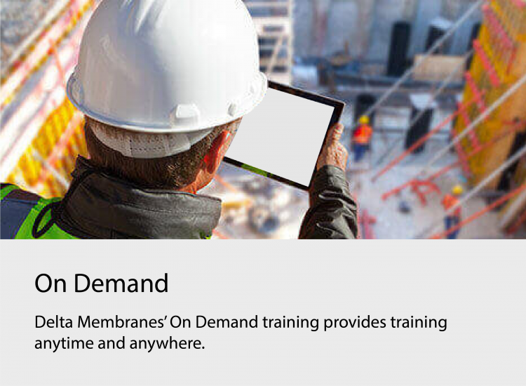 On Demand Structural Waterproofing Seminars