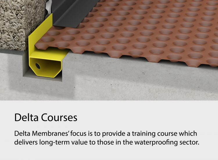 Delta Structural Waterproofing Training Courses