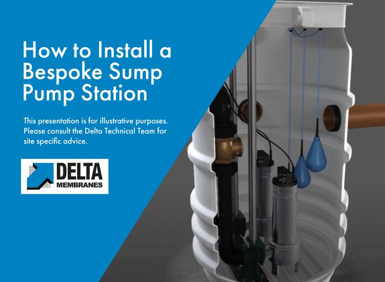"""""""How To"""" Install a Delta 800 Basement Sump Pump"""