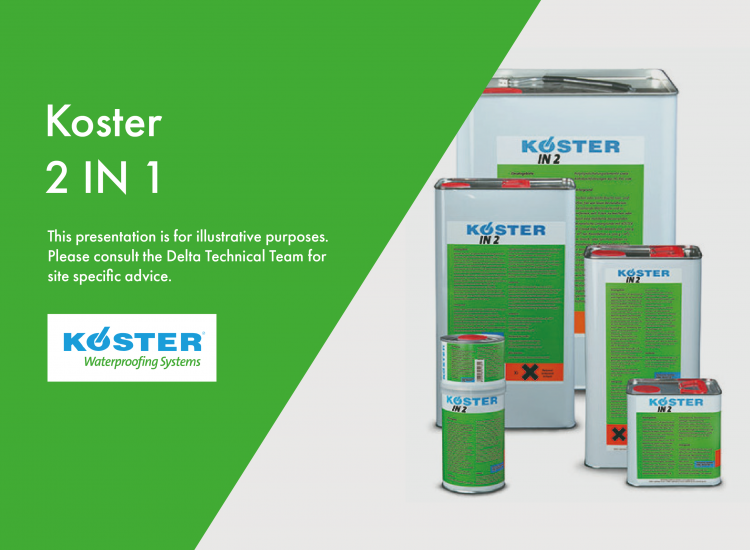 Crack Injection with Koster KB Pur 2 IN 1