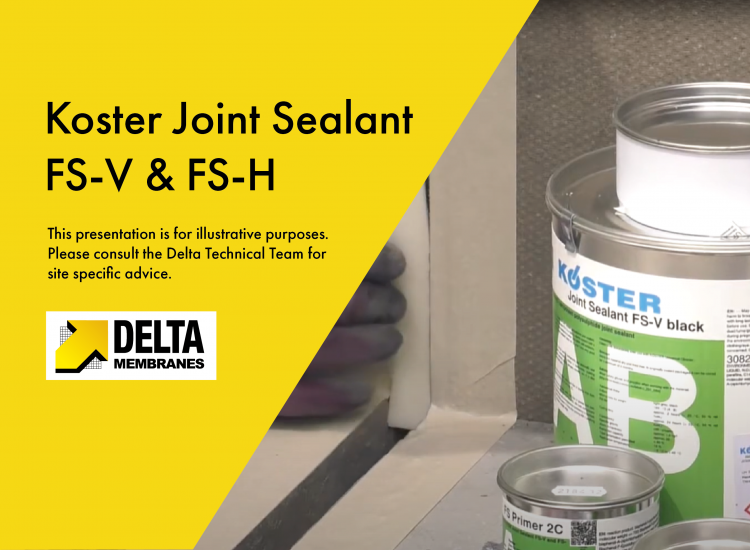 """""""How To"""" Video Guide – Koster Joint Sealant FS-V & FS-H"""